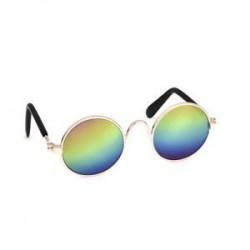 Színes. Kutya macska kisállat szemüveg kisállat kis kutya szemhéjfesték kiskutya napszemüveg fotók Props JP
