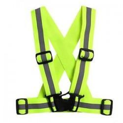 Zöld. Multi High állítható biztonsági biztonsági láthatóság Fényvisszaverő mellény fogaskerék