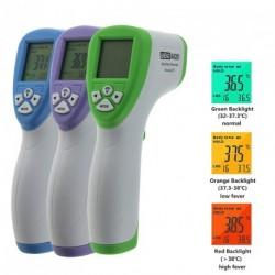 Baba digitális IR infravörös Has Test hőmérő érintésmentes hőmérséklet lézerfegyver LCD
