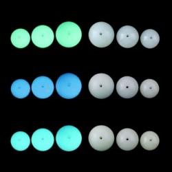 Fény világít a sötét körben Charm medálok-DIY ékszerek Nyaklánc Karkötő ténymegállapítás 6mm