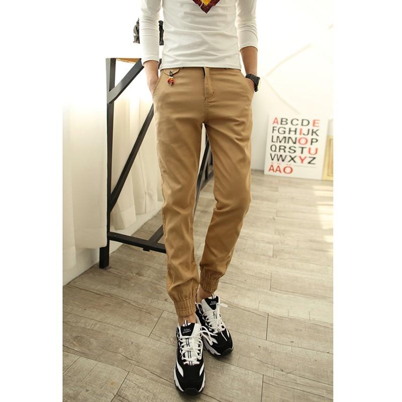 a482c4acb 1x divatos szolid elegáns új kényelmes meleg férfi hosszú nadrág ...