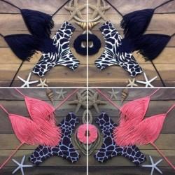 1x Női fürdőruha felső Bikini két részes mintás fürdőruha szivacsos