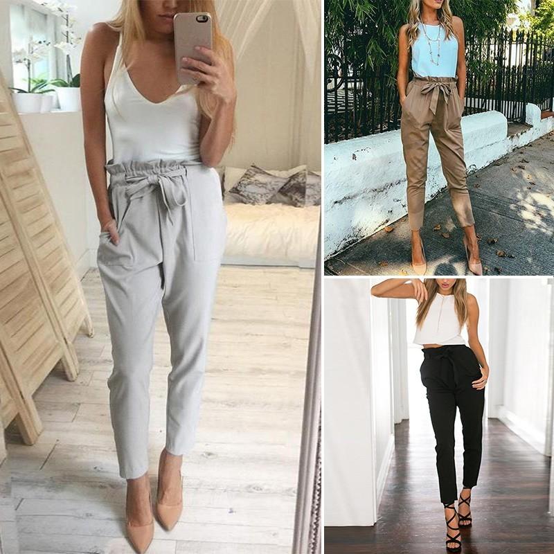 4869576e4c 1x női divatos nyári több színű alkalmi laza nadrág