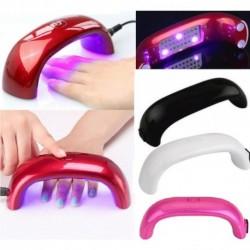 1x Pro Mini hordozható 9W USB LED körömlakk körömszárító UV-lámpa