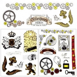 1x Retro mintás Átlátszó gumi bélyegző bélyegző DIY album Craft Scrapbooking dekoráció