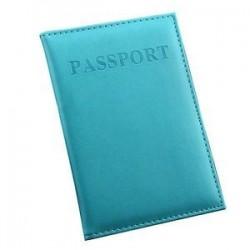 Hasznos bőr utazási útlevél-azonosító kártya fedél birtokosa tok Protector Szervező Új