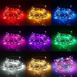 2M 20 LED borosüveg tároló fény éjjeli fény lámpa otthon lakás dekoráció ünnep karácsony