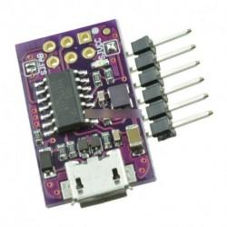 5V Micro USB apró AVR ISP ATtiny44 USBTinyISP programozó Arduino Bootloader