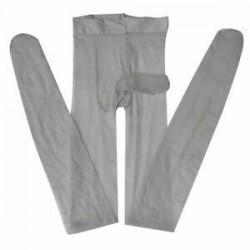Szexi férfi első nyitott szoros harisnya Stretch ujjú köpeny harisnya fehérnemű