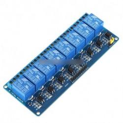 5V nyolc 8 csatorna relé modul  Optocsatoló PIC AVR DSP kar Arduino