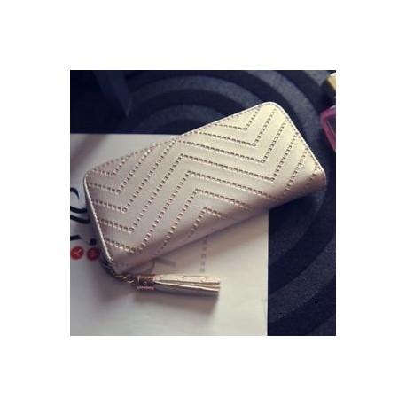 647db01be2f6 Női bőrkapcsoló hosszú pénztárca PU kártya tartó Lady pénztárca boríték  táska kézitáska