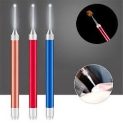 Könnyű LED villogó könnyű fül Pick Wax Earwax Remover Curette Easy Cleaner eszköz