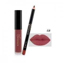 4 *. Smink vízálló hosszú élettartamú matt folyékony rúzs ajakrúzs kozmetikai készlet