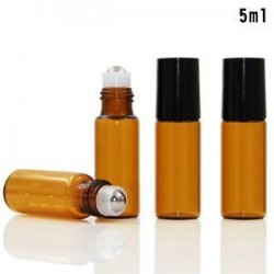 * 2 5ml. 5ml-100ml borostyán üveg folyékony reagens Pipettázza az üveg szemcsepp aromaterápiát