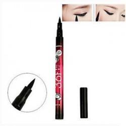 * 7 Folyékony fekete. Smink folyékony gél krém szemceruza vízálló szemlencse toll ceruza szépség kozmetikai