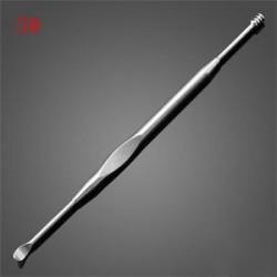 3 *. Rozsdamentes acél füles viasz pálca eltávolító Curette tisztító fül Pick Tool Új