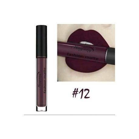 * 12. 13 szín A nők matt ajkak fényes folyadék tartós rúzs smink vízálló
