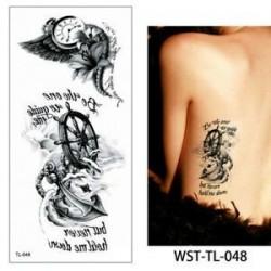 * 48. Vízálló szexi test mellkasi Art 3D virág ideiglenes matricák Arm tetoválás matricák
