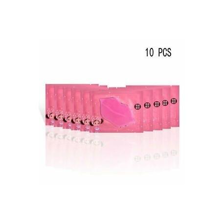 10 DB. 5db szexi kollagén kristály ajkakápoló maszk Anti öregedés ráncos hidratáló új