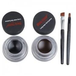 * 9 gél fekete. Szépség vízálló szemceruza folyékony gél krém szemlencse toll ceruza smink kozmetikai