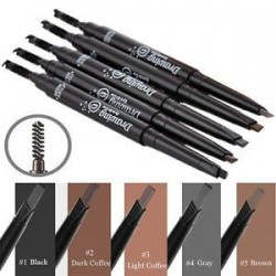 Vízálló szemhéj szemceruza szemöldök toll ceruza kefe smink kozmetikai eszköz