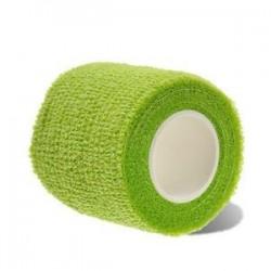Zöld. Elsősegélynyújtás Egészségügyi ellátás Kezelés Öntapadós elasztikus kötés Gézcsík