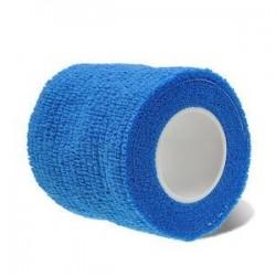 Kék. Elsősegélynyújtás Egészségügyi ellátás Kezelés Öntapadós elasztikus kötés Gézcsík