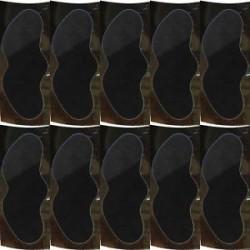 Fekete. 10db orr fekete fej eltávolító tisztító póruscsíkok Peel Off maszk / orr matrica