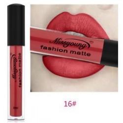 * 16. 13 szín A nők vízálló matt ajakfény folyékony tartós rúzs smink