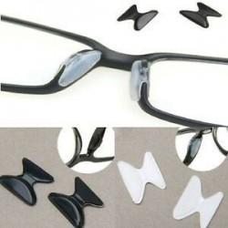 5 pár szemüveg szemüveg szemüveg szemüveg csúszásgátló szilikon ragasztó az orrpadon