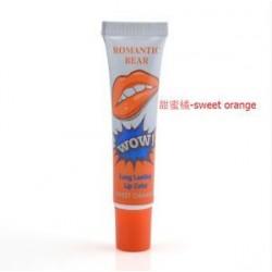 Édes narancs. 6 színes smink ajakfényes tetoválás mágikus hámlasztó maszk árnyalatú tartós vízálló