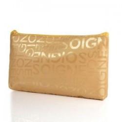 Nők hordozható kozmetikai táska szépség cipzár utazási levelek alkotó tok táskák Új
