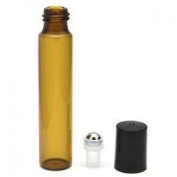 * 2 10ml. 5ml-100 ml üveg folyékony reagens Pipettázzunk üvegcseppentő Aromaterápiás borostyán