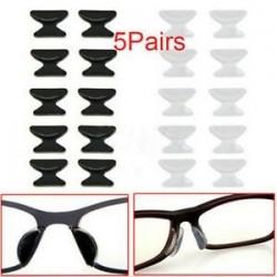 5 pár szilikon szemüveg napszemüveg szemüveg szemüveg csúszásgátló pálca az orrpadra