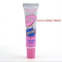 Szép őszibarack. Smink Magic Color Lip Gloss Tattoo hámlás maszk árnyalat tartós vízálló
