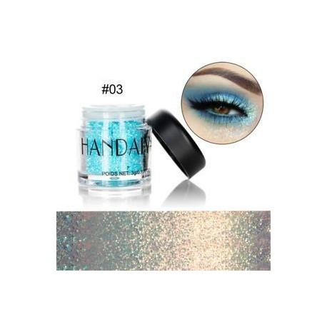 * 3. 10 színben csillogó szemhéjfesték smink szikrázó por csillogó gyémánt szemhéjfesték