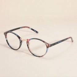 Virág. Divat tiszta lencse szemüveg keret retro kerek férfi női unisex majom szemüveg