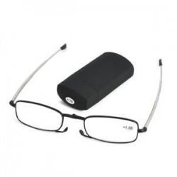 1,50. Hordozható divat összecsukható olvasószemüvegek Férfi forgatás szemüveg  1.5  2.0  2.5