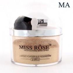MISS ROSE kiemelő kontúr arc szem smink alapja laza por ecsettel
