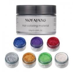Unisex 4 színben hajfesték viasz sár festék krém ideiglenes DIY modellezés divat 1PC