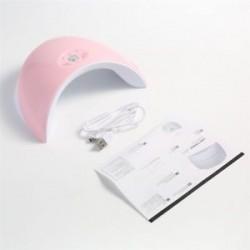 Rózsaszín. 36W LED UV körömszárító gél lengyel lámpa, száraz, száraz gyógyító manikűr szerszámgép