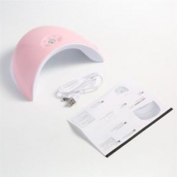 Rózsaszín. Új, 36W-os LED UV körömszárító gél lengyel lámpa, száraz, szárító manikűr szerszámgép