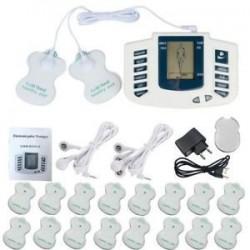 Elektromos izomlazító stimuláló masszírozó tíz akupunktúrás terápiás gépkészlet