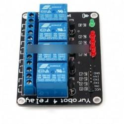 Négy 4 csatornás relé modul 5V PIC AVR DSP kar MSP430 Arduino