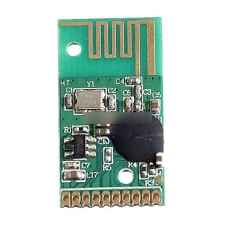 6 darab 24YK-TX-lock vezeték nélküli kapcsoló modul 2.4G távirányító adó