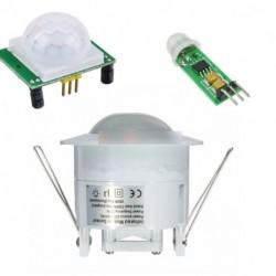 Mini HC-SR505 360 ° mennyezeti PIR infra mozgásérzékelő pontos érzékelő modul U