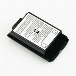 Fekete - Fekete fehér AA akkumulátor csomag hátlap burkolat tok készlet Xbox360 vezérlő JP