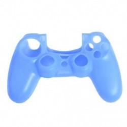 Kék - Szilikonfedő bőr tok Protector tartozékok PS4 Playstation 4 vezérlőkhöz