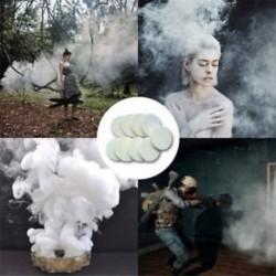 2 db fehér füst torta füst hatás megjelenítése kerek bomba fotózás támogatás játék ajándék