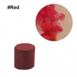 Piros - Színes füst torta bomba kerek hatás megjelenítése mágikus fényképezés színpad támogatás játék új